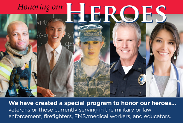 Honoring Our Heroes Loan Program